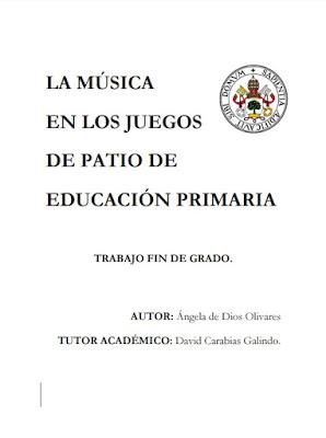 JUEGOS DE PATIO MUSICALES - PRIMARIA