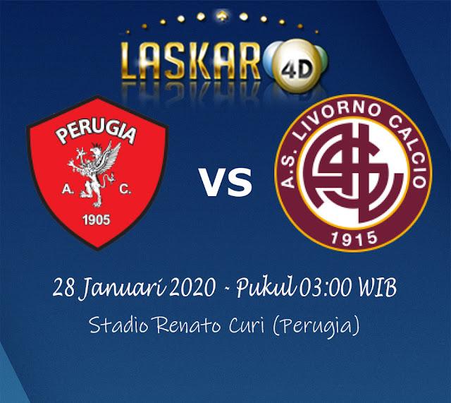 Prediksi Pertandingan Perugia vs Livorno 28 Januari 2020