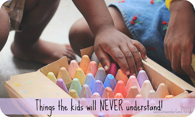 things my kids will never understand