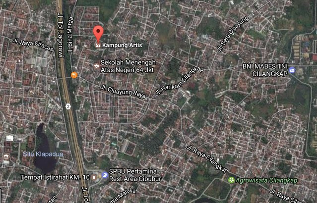 Pesona Keindahan Wisata Kampung Artis Di Cipayung Dki Jakarta Timur