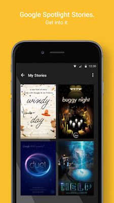 Google Spotlight Stories app released for iPhone