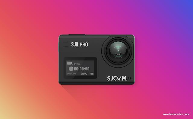 Beberapa Fitur Menarik Action Cam SJ8 Pro
