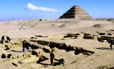New tomb discovered in Saqqara necropolis