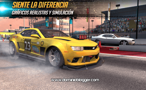 juego Nitro Nation Racing para Android