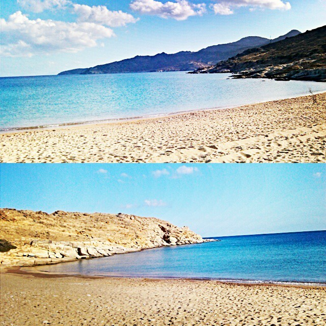 Plakes beach in Ios