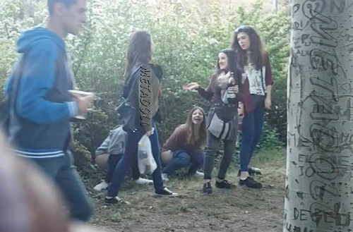 Peeing at festivals