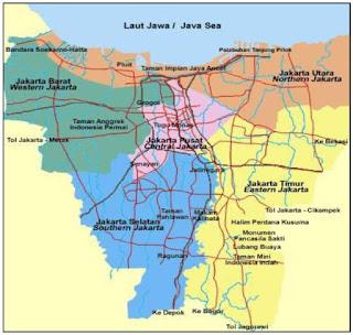 Contoh Peta Jakarta