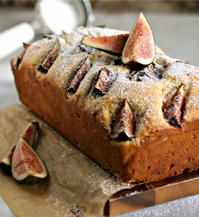 Summer Friday Flashback: Yogurt Fig Cake