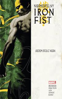 Nieśmiertelny Iron Fist tom 2 okładka