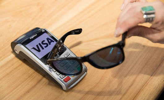 Visa's new way to pay in stores is a pair of sunglasses