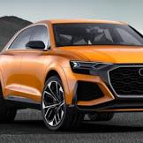 Audi Repaints Q8 Concept Krypton Orange, Makes It 476 -HP Twin-Turbo V-6 Hybrid Powertrain