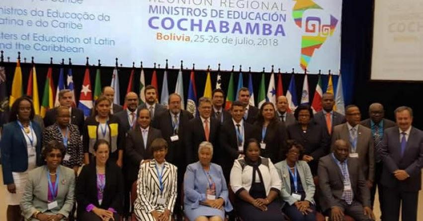 MINEDU: Ministro de Educación Daniel Alfaro se reúne en Bolivia con ministros de Educación - www.minedu.gob.pe