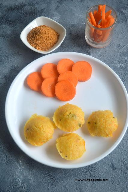 Carrot Idli