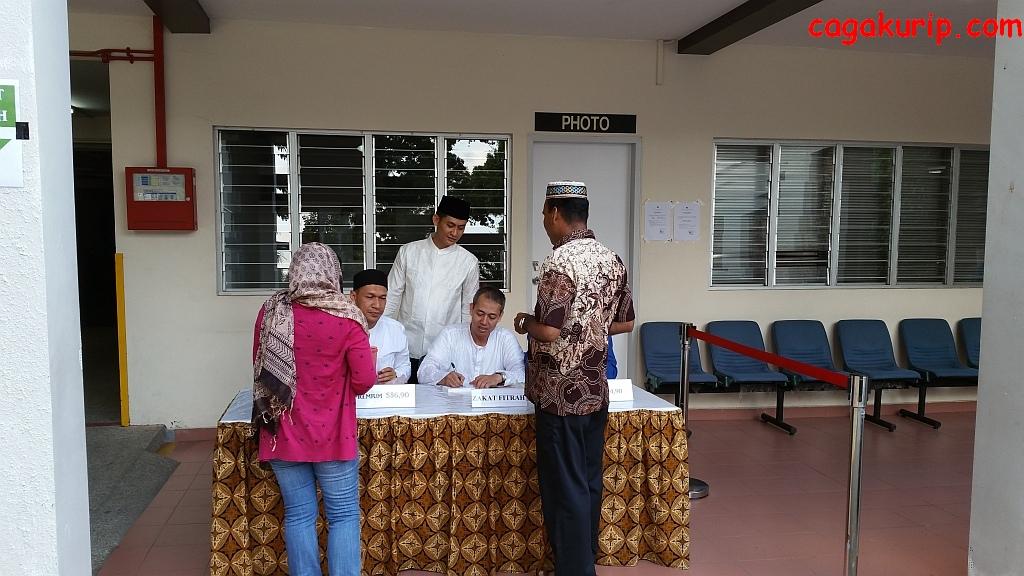 Panitia Zakat Fitrah Masjid Istiqomah KBRI Singapura