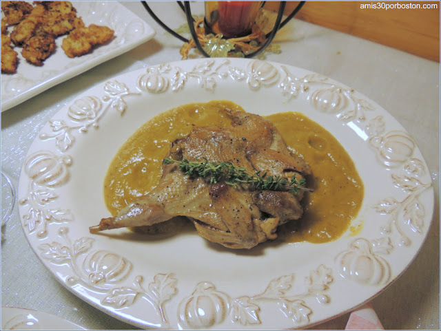 Cena de Acción de Gracias: Perdices en Escabeche