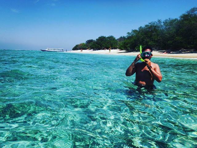 snorkeling di gili trawangan