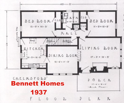 Bennett Homes Chelmsford Sears Lewiston lookalike
