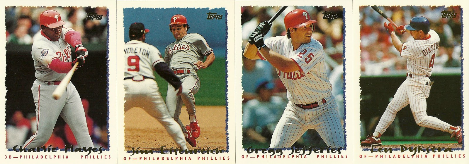1995 Topps 103 Mariano Duncan Baseball Cards Philadelphia Phillies