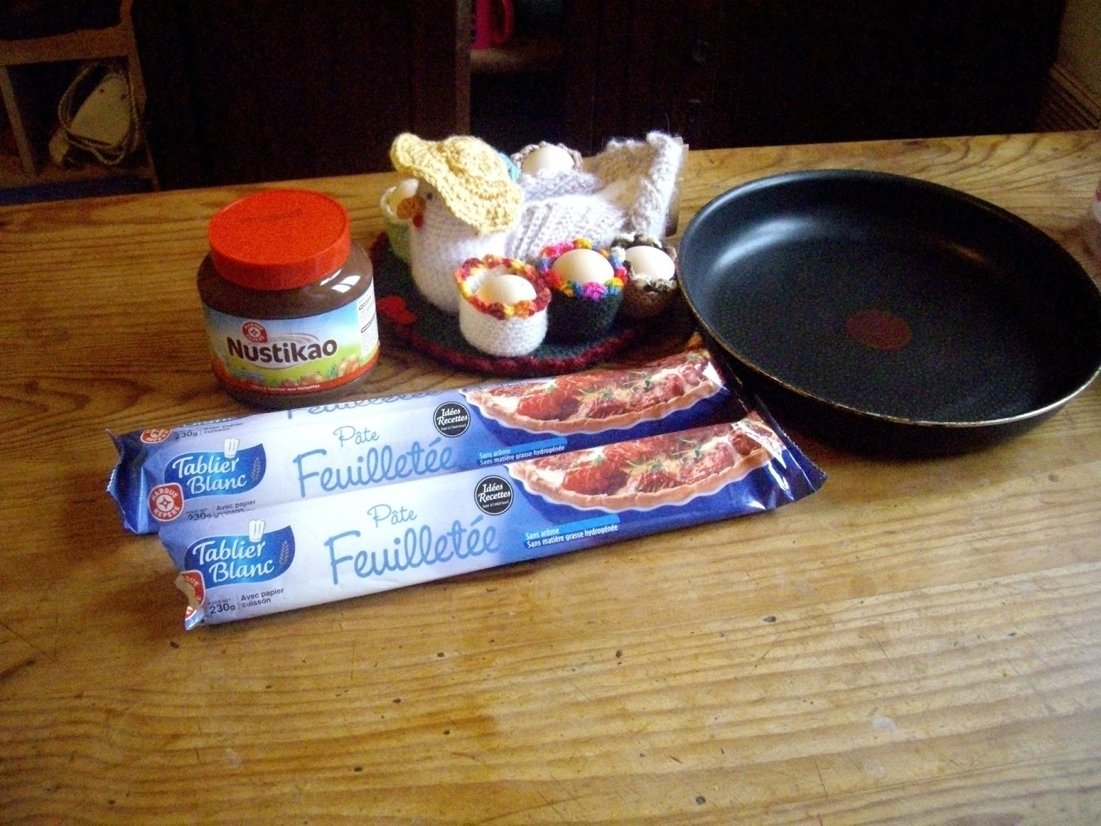Chagaz 39 et vous recette par une lectrice recette du soleil feuillet au nutella par - Pate feuilletee nutella soleil ...