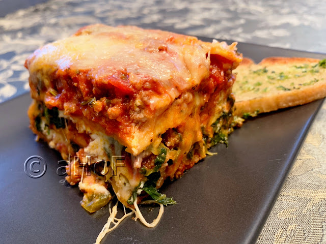 Lasagna with Homemade Pasta