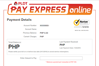 How to Pay PLDT Bill Using Pay Express Online