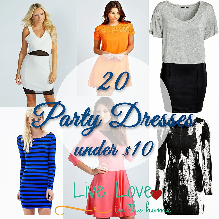 20 of the Best Party Dresses Under $10