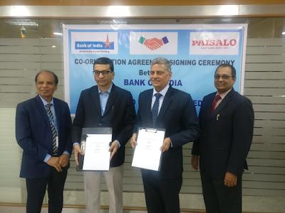 Bank-of-India-partnered-with-Paisalo-Digital