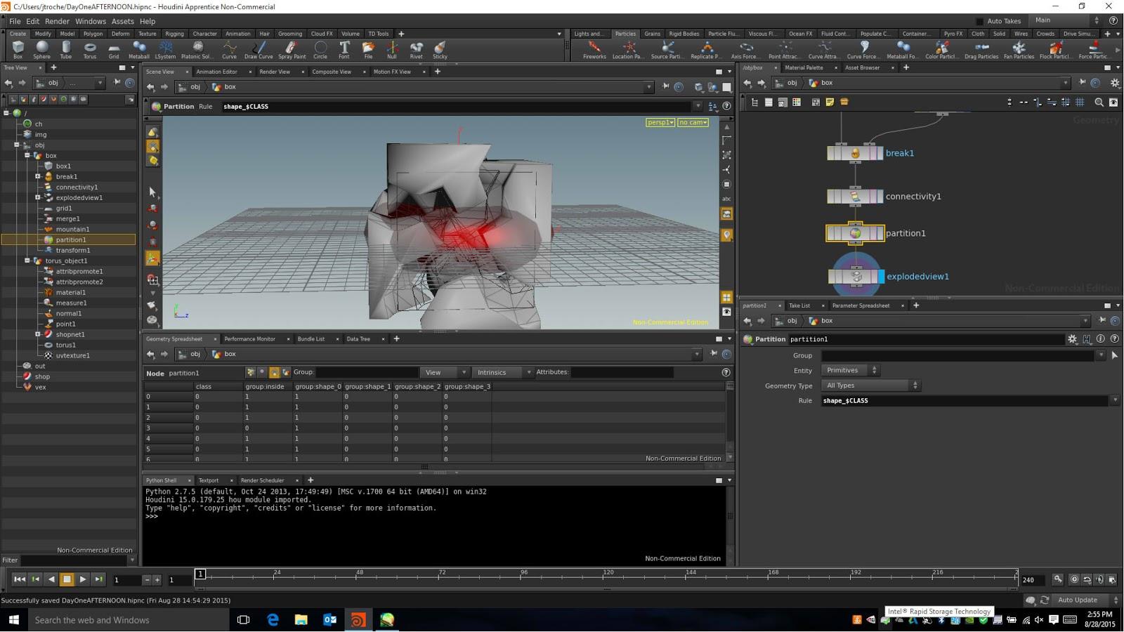 HOUDINI: Boot Camp Saga Pt 1 - Florida Interactive Entertainment Academy