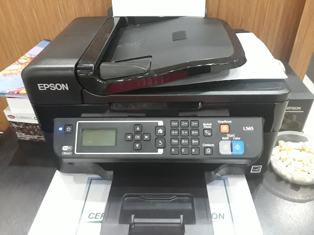 Download Printer Driver and Scanner EPSON L565 Series