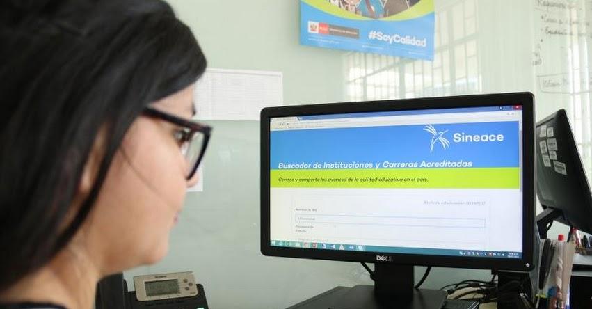 ¿BUSCAS DÓNDE ESTUDIAR? Página web del SINEACE brinda información de los «Avances de la calidad educativa» en el país - www.sineace.gob.pe