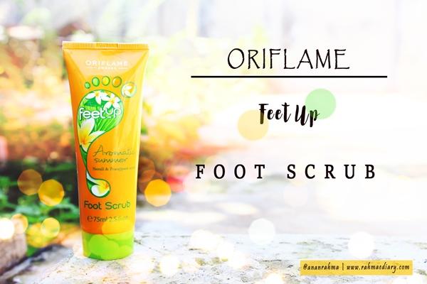 Oriflame Foot Scrub