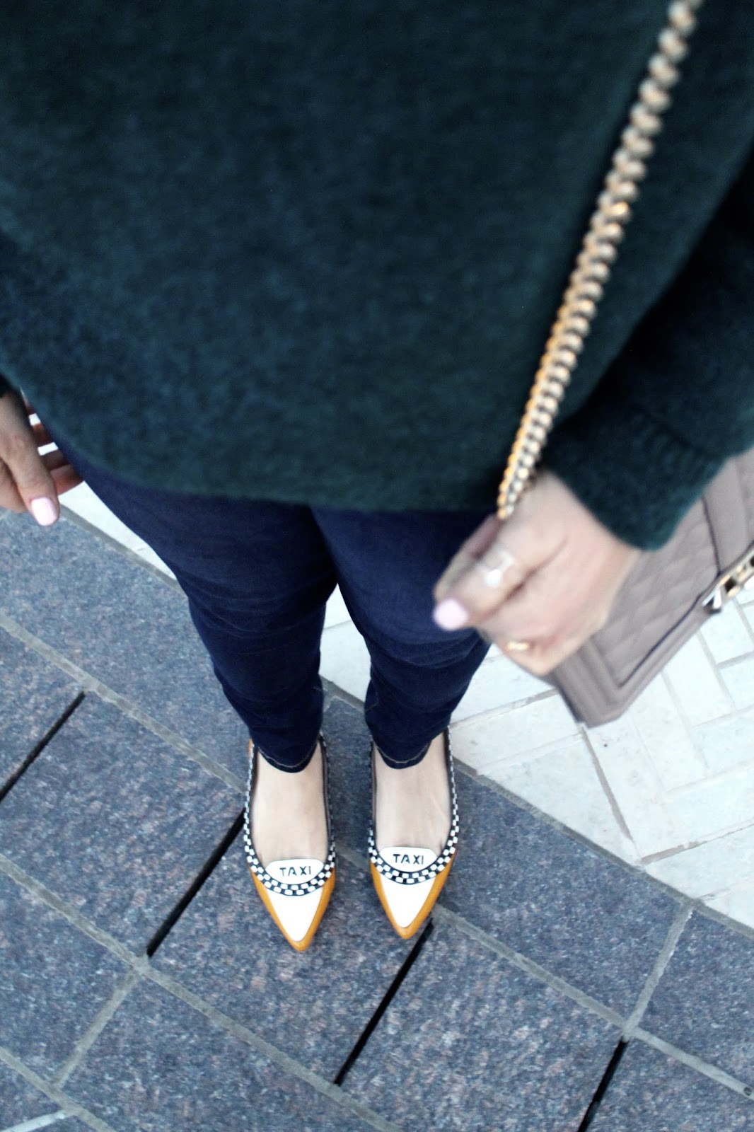 Kate, spade, taxi, flats, comfortable, yellow, flats, for ,work