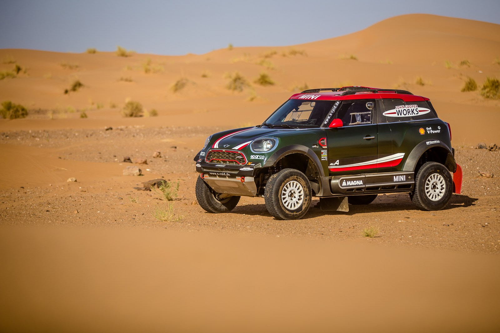 Mini John Cooper Works Buggy Revealed For The Dakar Rally