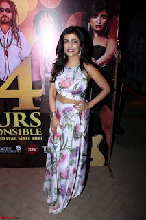 Shibani Kashyap Launches her Music Single led 24 Hours Irresponsible 022.JPG