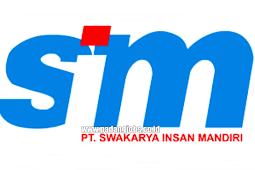 Lowongan Kerja Padang: PT. Swakarya Insan Mandiri September 2018