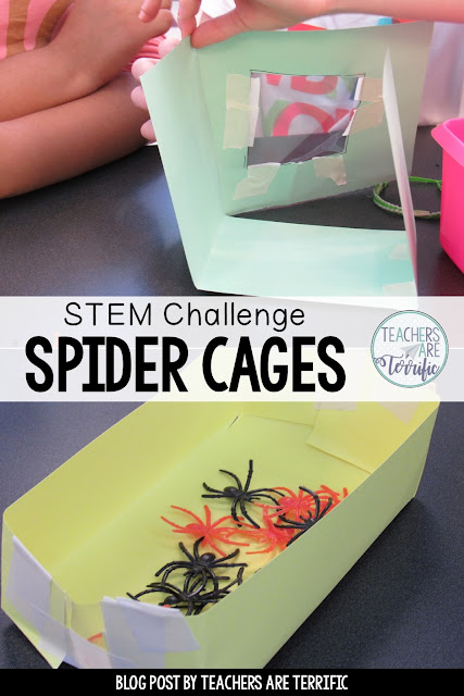 Escape Room Quests are missions that involve solving riddles and tasks to find clues to open a locked box. This one is perfect for Halloween and October or anytime! The information within the tasks is all about spiders! It's an Unlock the Box Challenge with a Science-based and/or Halloween theme! Kids complete math problems to solve a riddle, use small spiders on a coordinate grid to find clues, and sort facts about insects and spiders. A STEM Challenge is included in this resource!