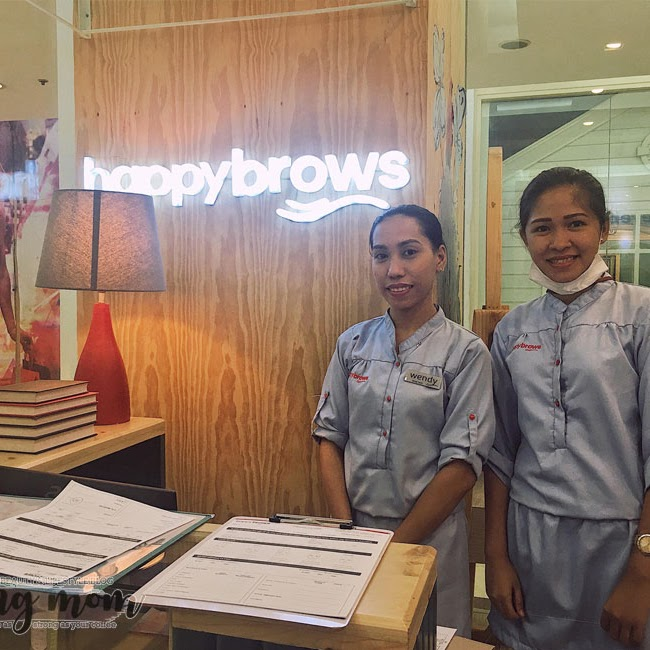 Happy Brows Gateway Mall Opening + Services Review | itsRayrose