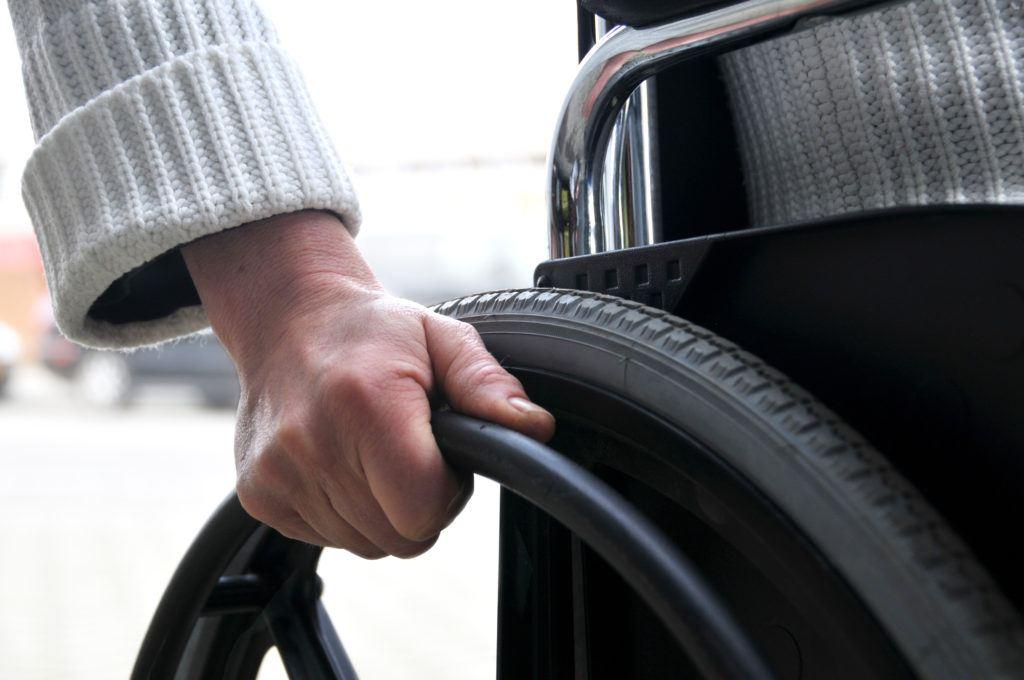 O Futuro que Queremos: imagem de uma cadeira de rodas