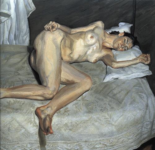 Something Lucian freud naked portrait think