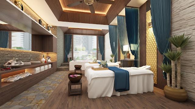 Khu Spa tại Căn Hộ Central Coast Đà Nẵng