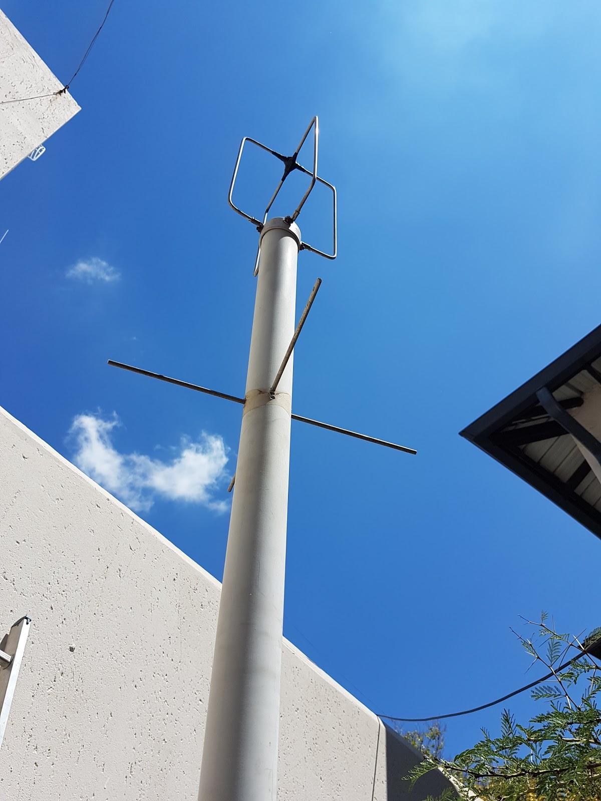 ZR6AIC: Building my Eggbeater II Omni LEO Antennas