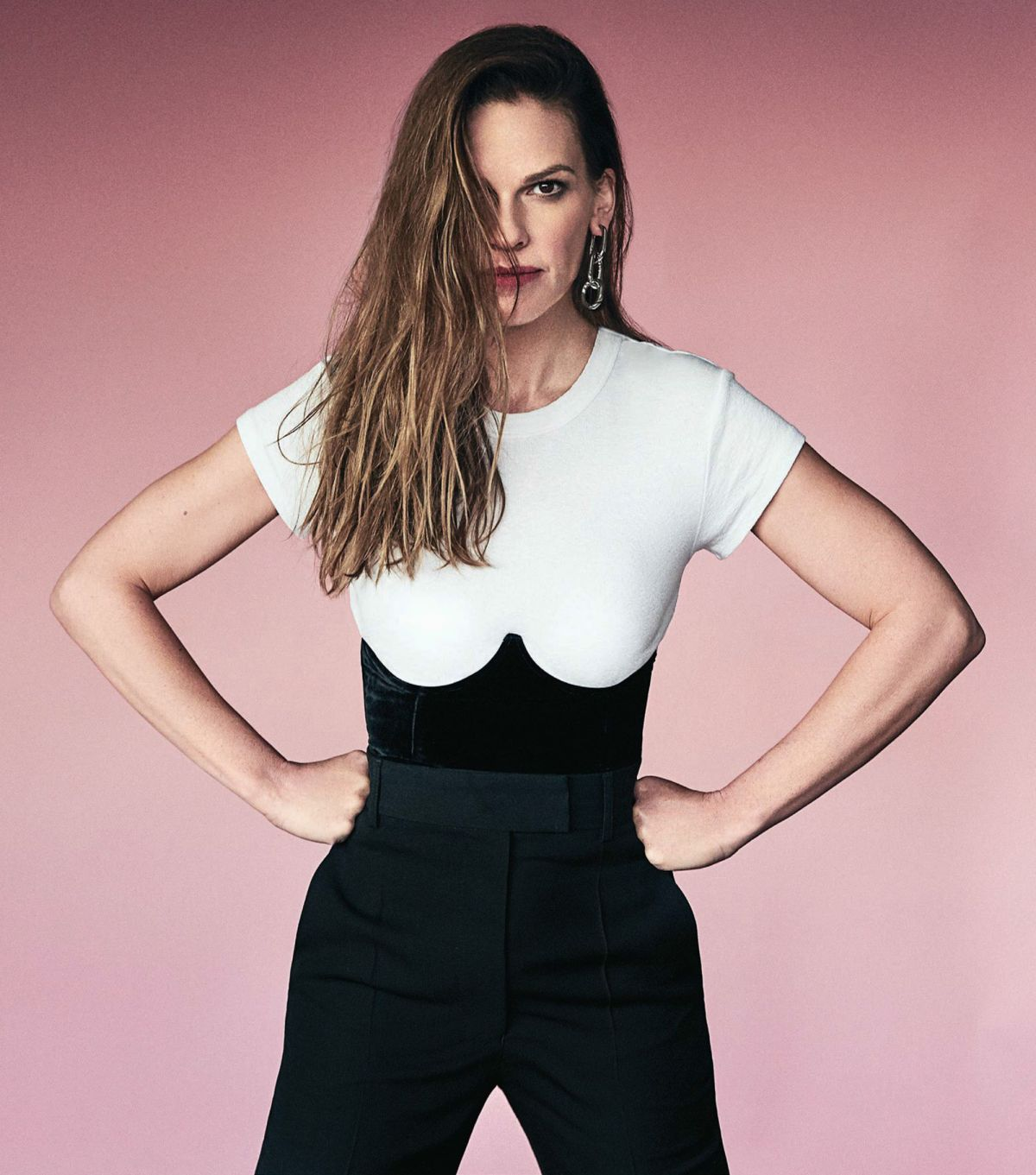 Hilary swank hot something