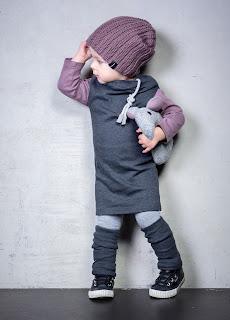 Grauton Kinderkleidung