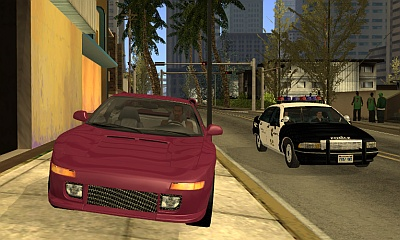 GTA San Andreas Real Cars MOD