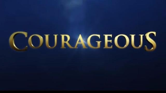 Logo marca do filme Corajosos titulo original Courageus