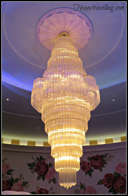 Chandelier at the Greenbrier Casino