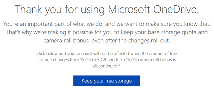 Reserve your 15GB of free #OneDrive storage before #Microsoft downgrades it to 5GB (www.kunal-chowdhury.com)