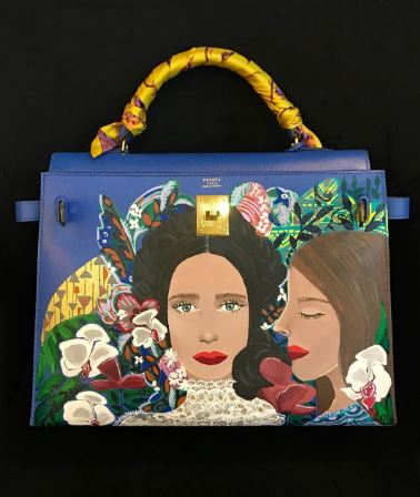 WOW! Heart Evangelista Painted A Masterpiece On Kim Chui's Bag And It Is A Must-See!