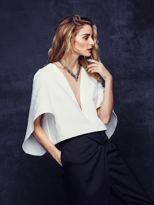 Olivia Palermo x Baublebar Holiday 2015 Lookbook