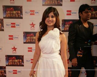 dtapeshwari sharma at big television awards at yashraj studios.jpg